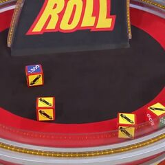 On his first roll, he has 4 cars and $1,500. Surprisingly, he decides to stop.