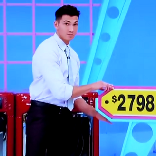 He picked the washer & dryer. But does it have the exact same price as jewelry?