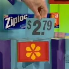 The Ziploc bags are $2.79. This looks like trouble.