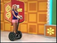 Rachel Reynolds on Segway