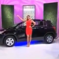 The last car ever modeled by Gwendolyn, a 2017 Chevrolet Trax LS.