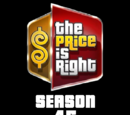 The Price is Right/Season 45 Statistics