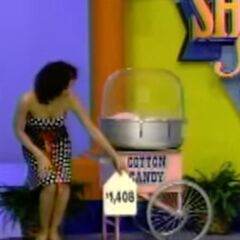 She should've picked the $1,408 cotton candy maker instead.
