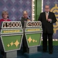 The Showcase podiums on October 30, 2007 (#4062K, aired out of order as Drew Carey's first aired show on October 15).