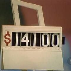 He says it's $14,500.