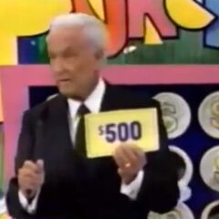 On his second punch, he has another $500. He decides to throw it away.