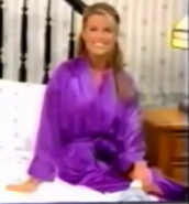 Rachel in Satin Sleepwear-15