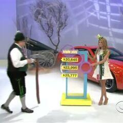 She picks the $25,777 price.