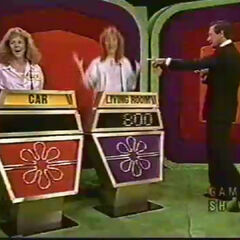 The purple contestant won with a difference of only $800!