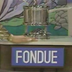 Juanita needs to guess the price of the Fondue exactly right.