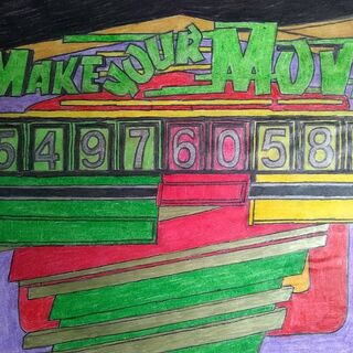 a custom drawing of Make Your Move that a fan drew