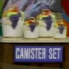 This is the last item, it's a canister set.