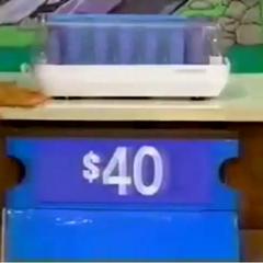 Actual Price: $40.