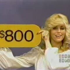 The price of the stereo is $800. She is a winner!