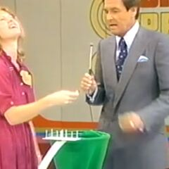 Susan's third draw is a strike.