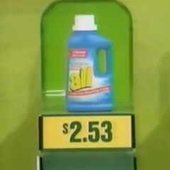 ...She should've picked the All Laundry Detergent for $2.53 instead.