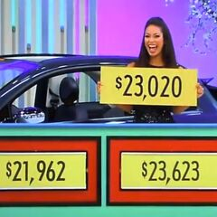 He wins the car & $23,020, bringing his pricing game winnings to $46,040.