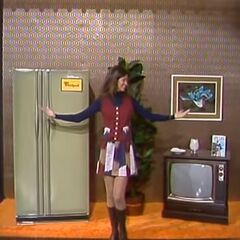 ... a refrigerator/freezer and a color TV, worth $960!
