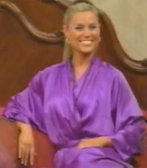 Rachel in Satin Sleepwear-36
