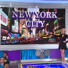 And if she wins, she'll appropriately get to watch the <i>real</i> ball drop in Times Square in New York City!