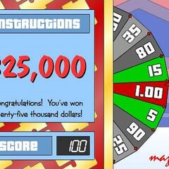 Land on this number in your bonus spin and you'll get this.