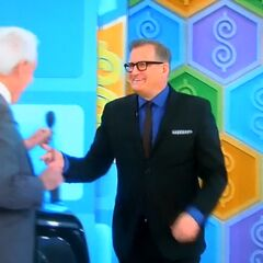 Here comes Drew Carey.
