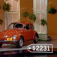 The price of the Volkswagen Super Beetle.