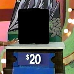 He bid $20 and is exactly right!