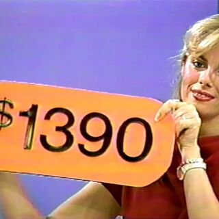 The price of the love seat is only $1,390. The contestant lost.