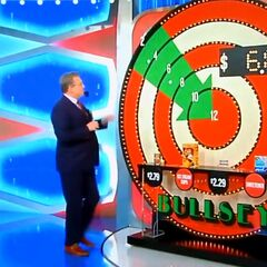 ...$6.87. She can still win if the hidden bullseye is behind the mens body wash or the tuna.
