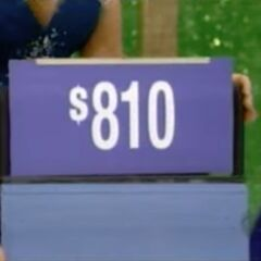 The price of the flatware is $810.
