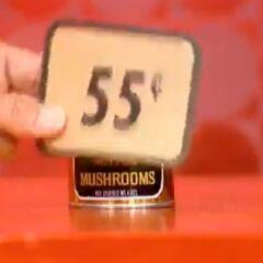 Finally, she picks 1 mushroom for a total of...