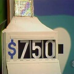 He says it's $750.