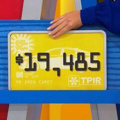 First, Lauren picks $19,485...