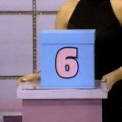 He picks Box #6.