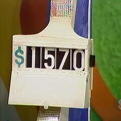 He says it's $1,570.