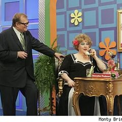 Drew's longtime friend & comedienne Kathy Kinney as her <i>Drew Carey Show</i> character Mimi takes over