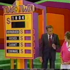 Which two prizes total $1804?