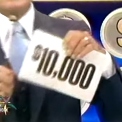 On his first punch, he has won $10,000!!!