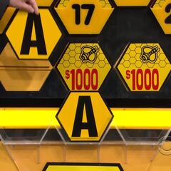 It's another A. $2,000 is now up for grabs, but the contestant decides to go for the car.