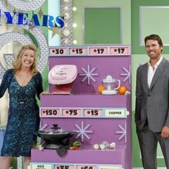 Melody Thomas Scott & Joshua Morrow stand in for the regular models as they're put to work during the <a href=