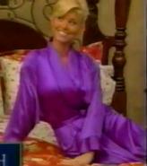 Teri Harrison in Satin Sleepwear-33