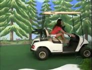 Brandi Sherwood on Golf Cart-9