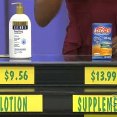 They said the supplement is less than the lotion. But they are wrong.