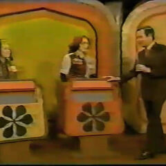 The Showcase podiums with the familiar asterisks from a 1975 episode.