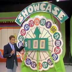 The original Showcase Showdown wheel from 1975.