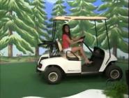 Brandi Sherwood on Golf Cart-11
