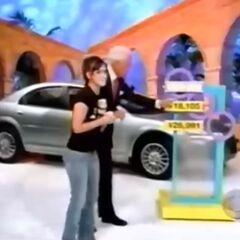 She picks the $18,105 price.