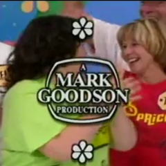 From Bob Barker's last show. After that, Mark Goodson Productions became FremantleMedia.