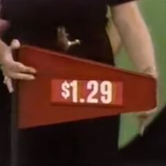 The price of the Tootsie Roll Midgees candies.